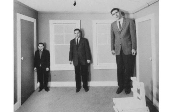 Комната Эймса. Изобретение Эдельберта Эймса-младшего