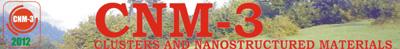 Международная конференция «Clusters and Nanostructured Materials» (CNM-3'2012)