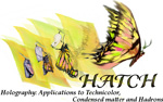 Holography: Applications to Technicolor, Condensed matter and Hadrons HATCH-2012