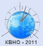 Всероссийская конференция «Фундаментальное и прикладное координатно-временное и навигационное обеспечение» КВНО-2011