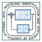 XV Международная научно-техническая конференция «Моделирование, идентификация, синтез систем управления» МИССУ`2012