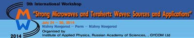 IX Рабочее совещание «Strong Microwaves and Terahertz Waves: Sources and Applications»