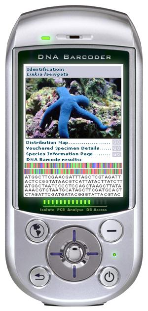 Мечта участников проекта «Штрихкод жизни» - миниатюрный ДНК-штрихкодер. Существует пока только в воображении.
