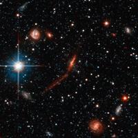 Странные молодые звезды на окраине Туманности Андромеды могут быть «осколками» столкновения галактик. Фото ©NASA, ESA and T.M.Brown (STScI) с сайта hubblesite.org