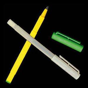 В этих ручках все, кроме чернил, сделано из модифицированного крахмала
