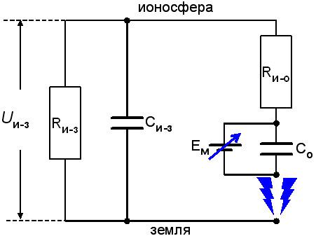 Электрическая схема подзарядки
