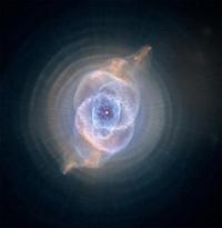 Туманность Кошачий Глаз- одна из самых сложных среди известных планетарных туманностей, которые образуются умирающими звездами типа Солнца. Фото ©NASA, ESA, HEIC, and The Hubble Heritage Team (STScI/AURA) с сайта hubblesite.org