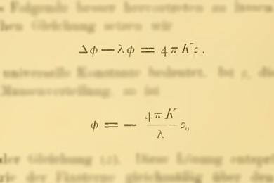 Из статьи А. Эйнштейна «Вопросы космологии и общая теория относительности»