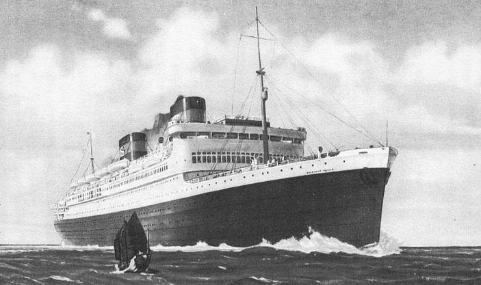 Океанский лайнер «Президент Гувер» («Квантик» №4, 2020)