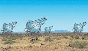 Установка HESS в Намибии. Изображение: «Наука и жизнь»