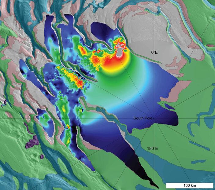 Результат радиолокационного поиска залежей твердой углекислоты в Южной полярной шапке Марса («Троицкий вариант» №7, 2021)