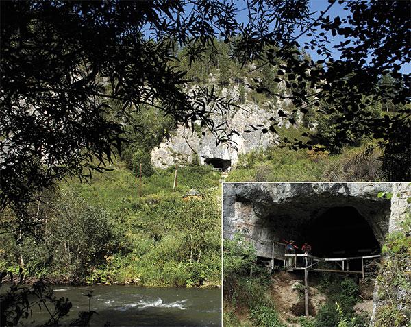 Денисова пещера— древнейшая палеолитическая стоянка в Сибири. Первый человек поселился вней около 300тыс. лет назад