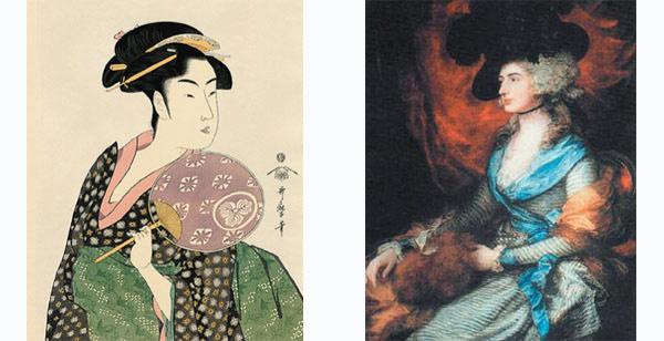 Древнеяпонское слово, обозначающее особу женского пола, созвучно английскому woman. Однако между ними меньше внутренней связи, чем между приемами работы японского художника Китагава Утамаро и английского живописца Томаса Гейнсборо.