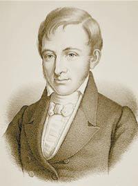 Расмус Кристиан Раск (1787—1832), датский языковед и ориенталист, один из основоположников индоевропеистики, сравнительно-исторического языкознания. Изображение: «Наука и жизнь»