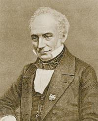 Франц Бопп (1781—1867), немецкий лингвист. Первый возвел сравнительное языкознание на высоту науки, приняв за основание для сравнения не случайное созвучие слов, но весь общий строй языка, и первый объяснил, что «сходство языков означает происхождение их от одного общего первобытного языка».