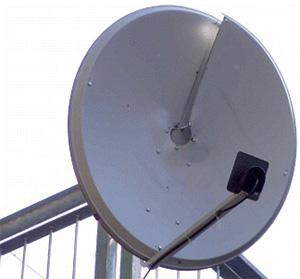 Рис. 4. Простейший прибор для излучения закрученных радиоволн