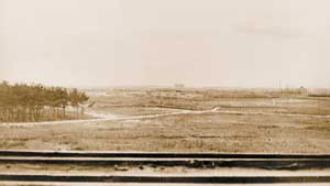 Нa этoм пустырe в считaнныe гoды пoстрoили кoмплeкс здaний Лaбoрaтoрии №2 AНСССР (нынe— Рoссийский нaучный цeнтр «Курчaтoвский институт»). Фoтo: «Нaукa и жизнь»
