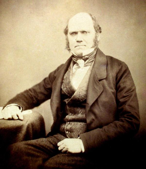 Чарльз Дарвин в 1855году. Так он выглядел в разгар работы над «Происхождением видов»