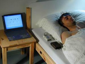 Исследование различных фаз сна (фото с сайта www.joanneum.at)