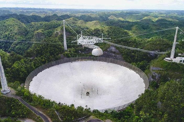 Радиотелескоп «Аресибо» («Троицкий вариант» №25, 2020)