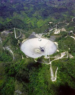 Телескоп «Аресибо» с высоты птичьего полета («Троицкий вариант» №25, 2020)