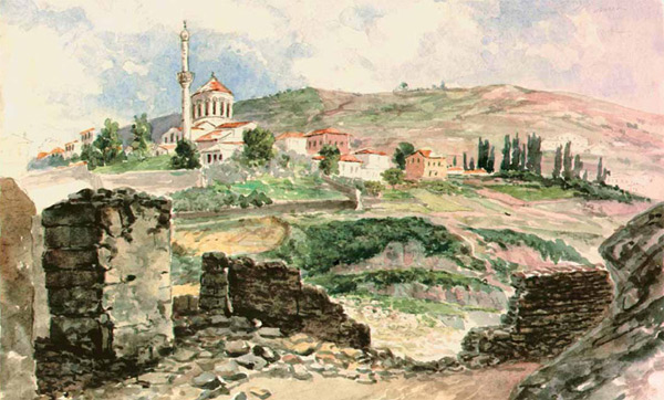 Церковь св.Евгения, широко почитаемого в Трапезунде (изображение: «Наука из первых рук»)