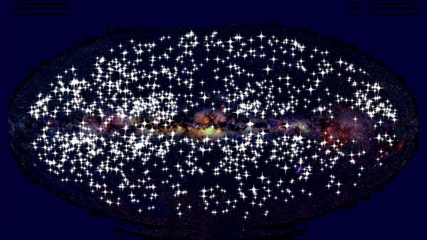 Полторы тысячи оптических вспышек, открытых системой телескопов МАСТЕР