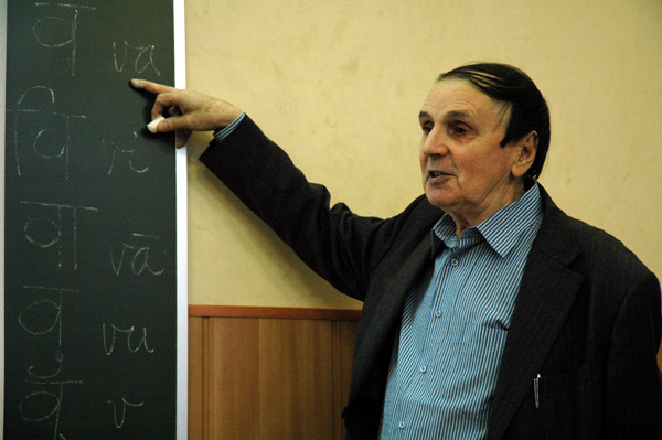 А.А.Зализняк, «О языке древней Индии». 11февраля 2011года, школа «Муми-тролль»