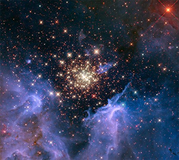 Область звездообразования NGC3603