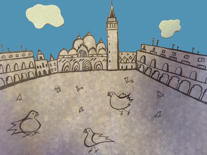 Голуби живут в голубятнике