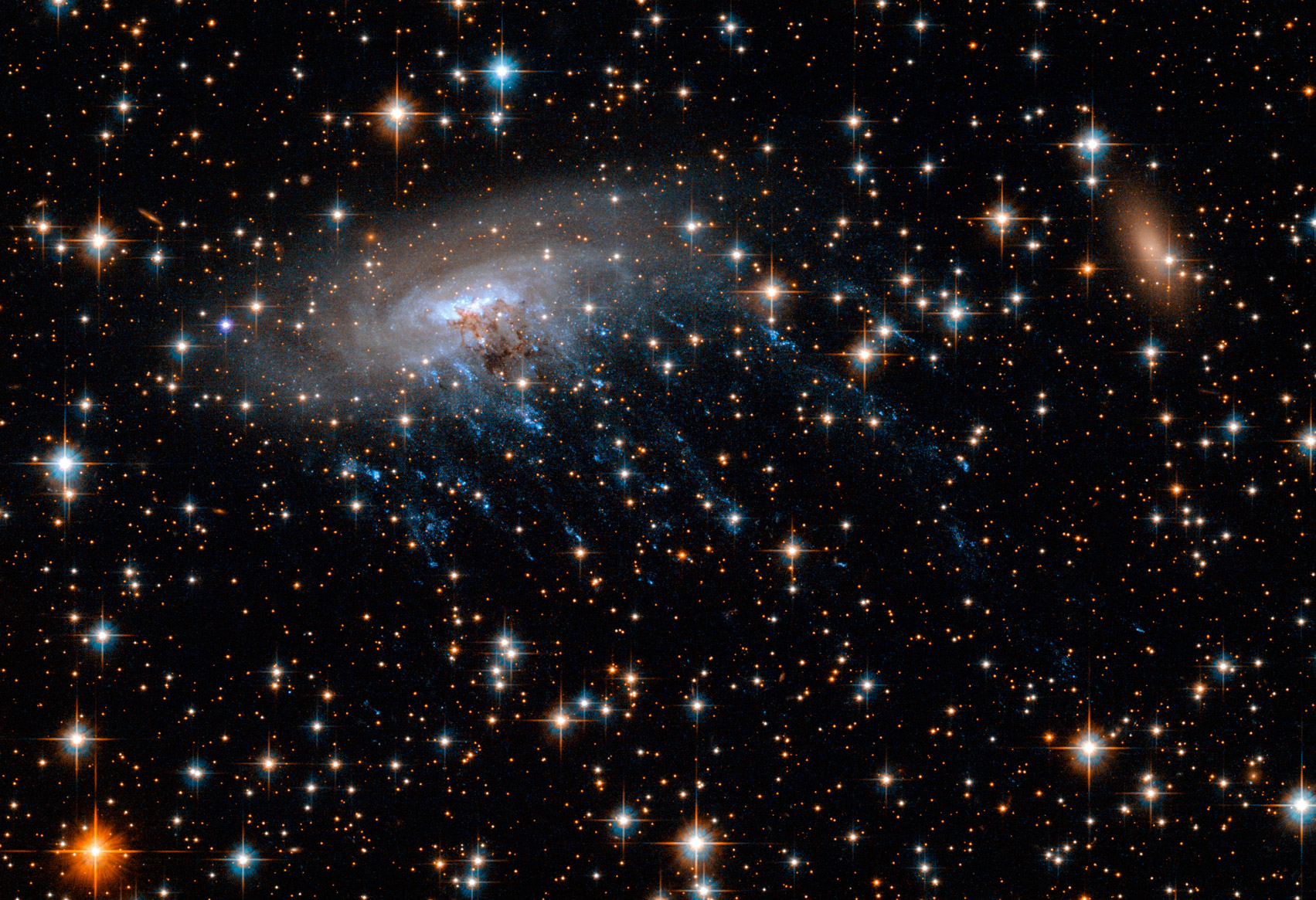 Картинки по запросу Убегающая галактика ESO 137-001