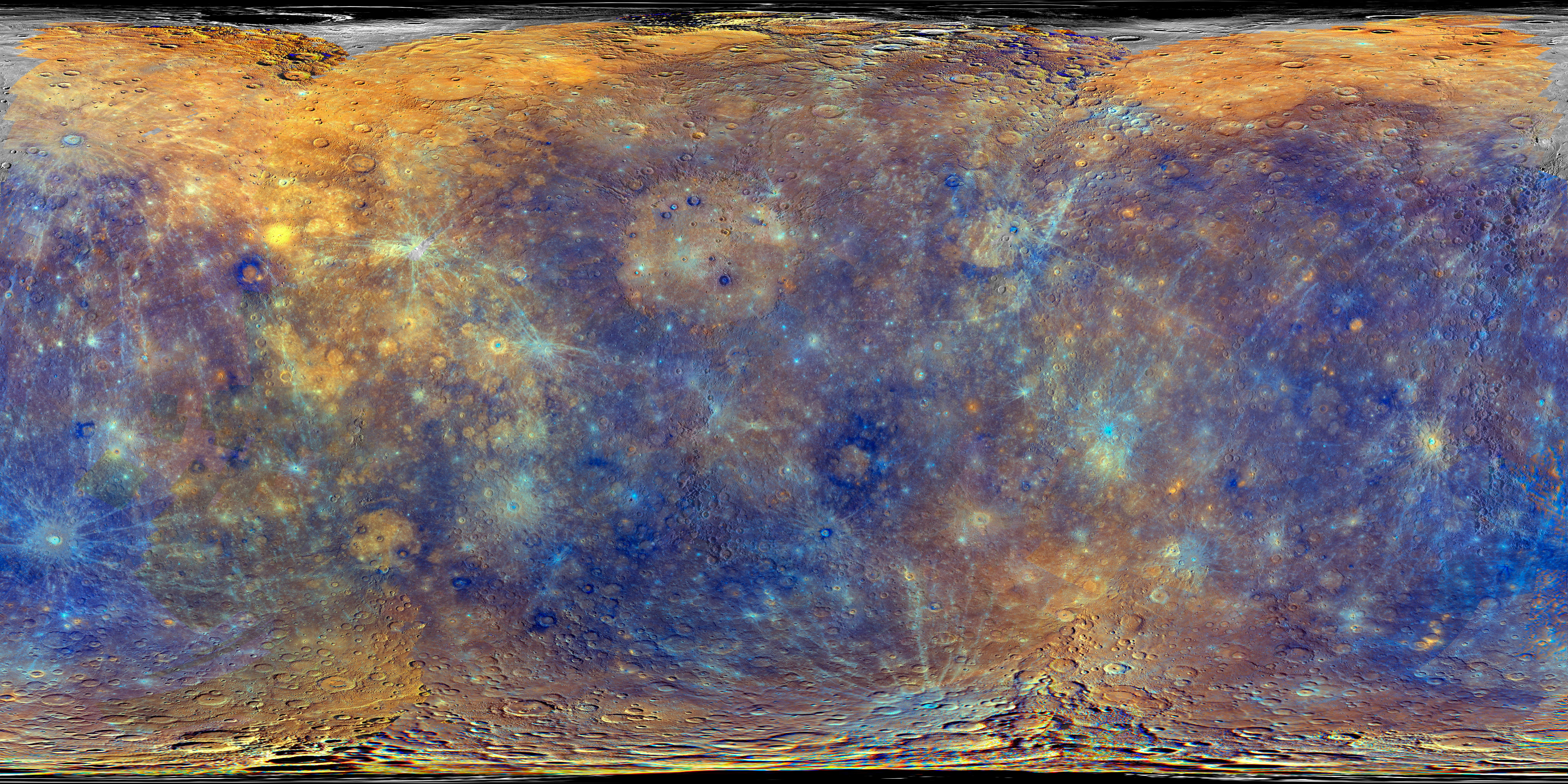 planetary names 15 millionscale maps of mercury - HD 1920×960