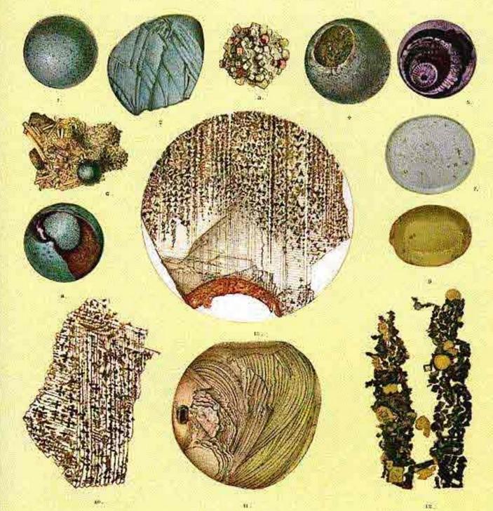 Первые изображения микрометеоритов