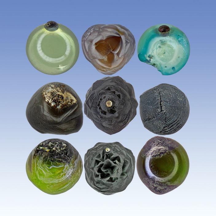 Микрометеориты в оптическом микроскопе