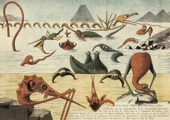Карикатура про Ялту до Потопа