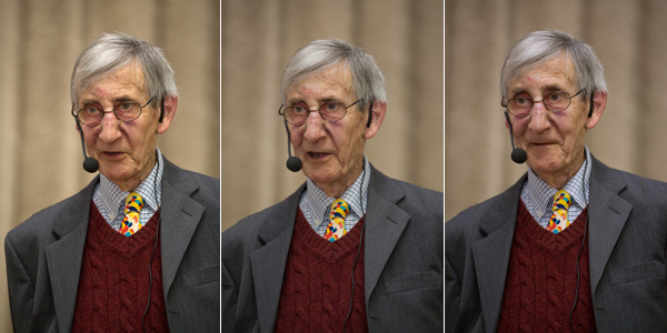 Freeman Dyson. Lebedev Physics Institute of the Russian Academy of Sciences, Moscow, Russia, 23 March 2009. Photo: Dynasty foundation