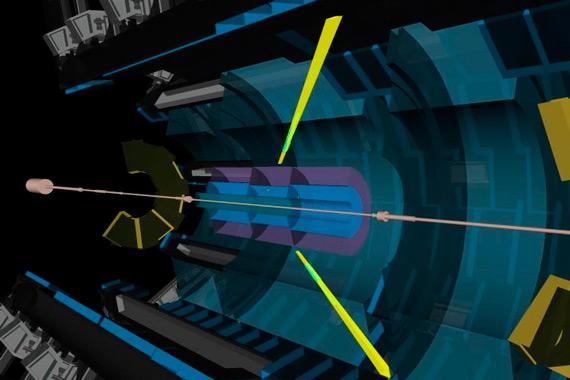 Рождение двух фотонов умеренно большой энергии в детекторе ATLAS
