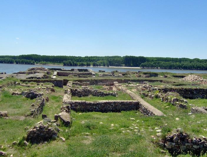 Рис. 1. Современный вид развалин крепости Капидава