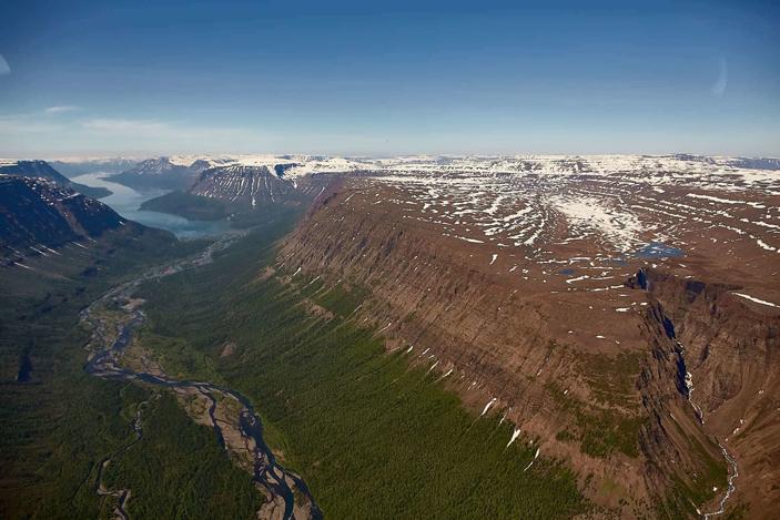 Формирование сибирских траппов сопровождалось горением большого количества каменного угля