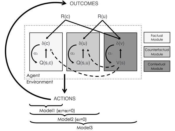 Рис. 3. Три модели обучения, с которыми сравнивались полученные результаты