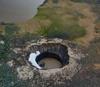 Ямальская воронка образовалась в результате извержения криовулкана