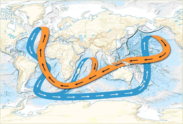 Глобальный океанический конвейер это левая фара на транспортер т4