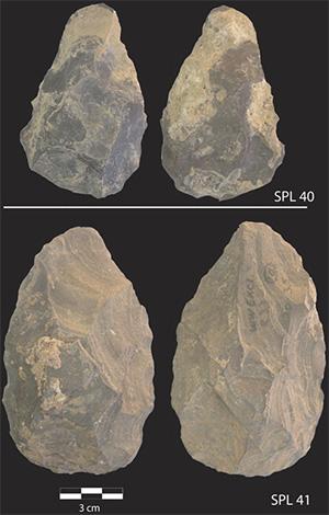 Раннеашельские ручные рубила (бифасы)
