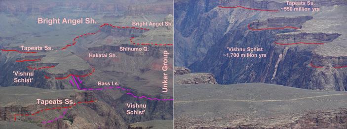 «Великое несогласие» в Большом каньоне