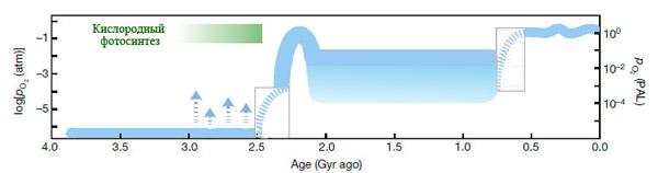 Современные представления об истории кислорода на Земле