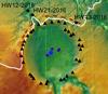 Огромный метеоритный кратер под льдом Гренландии образовался совсем недавно
