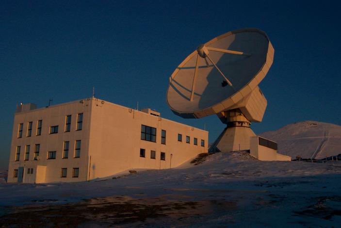 Рис. 3. Миллиметровый радио телескоп IRAM