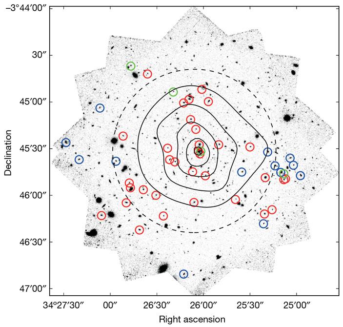 Древнее скопление галактик XLSSC122 оказалось неожиданно старым