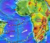 Строение кратонов может меняться из-за взаимодействия их литосферы и мантийных плюмов