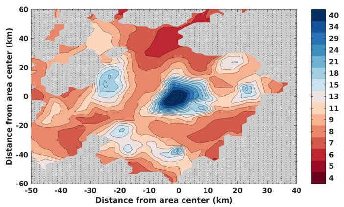 Mars Express обнаружил в районе южного полюса Марса еще несколько подземных озер